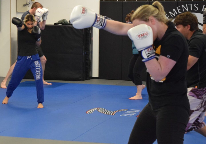 shadow boxing class